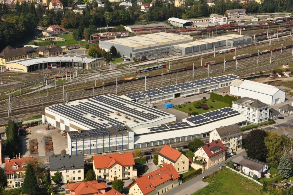 Luftbildaufnahme Kärntner Maschinenfabriken